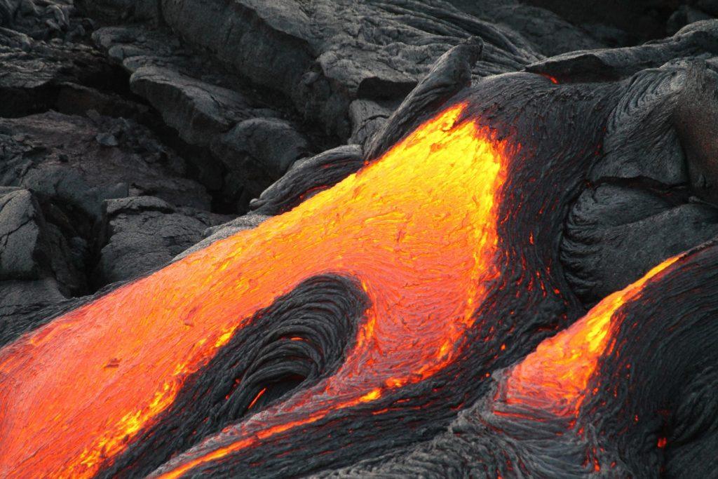 Vulcano lava