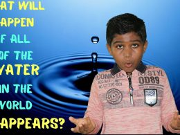 What will happen if all of the water in the world disappears?