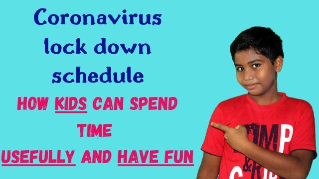 Coronavirus lockdown schedule for kids: How to spend time usefully