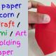 Easy paper 2D Acorn / DIY