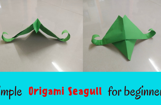 Simple-Origami-Seagull-for-beginners
