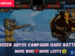 Frozen Abyss Campaign hard battle More wins🎁 More loots💰