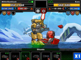 Super Mechs Frozen Abyss INSANE Mission 6 - Mission defeat 😓 (a tough fight 💪)