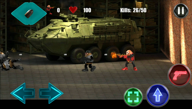 Killer Bean Unleashed Story Mode - Clearing levels 4, 5, 6 - Close calls