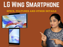 LG Wing Smartphone - Specs, Features and Other Details in Tamil | Details about LG Wing Phone