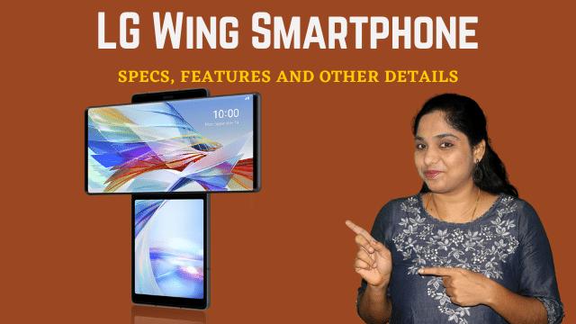 LG Wing Smartphone