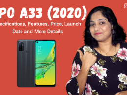 Oppo A33 (2020) - Specifications, Features, Price, Launch Date and More Details