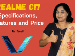 RealMe C17 Specifications, Features and Price | RealMe C17 Budget Smartphone Specs