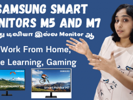 Samsung Smart Monitors M5 and M7 For Work From Home, Online Learning, Gaming - Specifications and Price