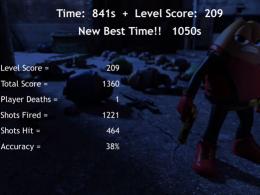 Killer Bean Unleashed Survival Mode Level 2 | 1050s, Level Score 209, Total Score 1360, Shots Fired 1221