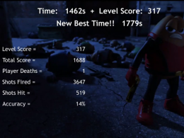 Killer Bean Unleashed Survival Mode Level 3 | 1779s, Level Score 317, Total Score 1688, Shots Fired 3647