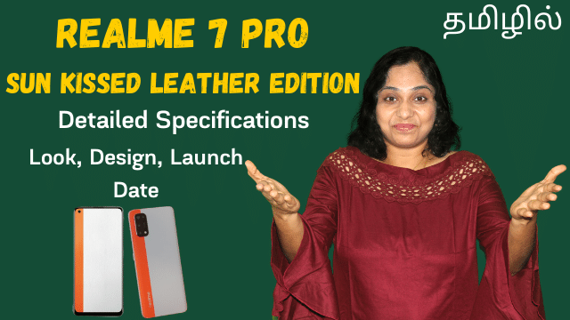 RealMe 7 Pro Sun Kissed Leather Edition Detailed Specifications
