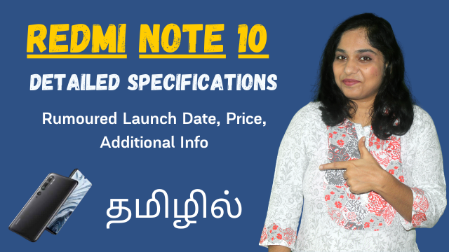 Redmi Note 10 Detailed Specifications