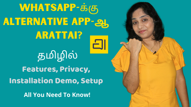 WhatsApp Alternative Arattai? Features, Privacy, Installation Demo, Setup - All You Need To Know!