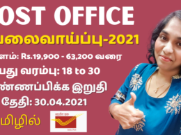 India Post Recruitment 2021 | TamilNadu Postal Circle Jobs | How To Apply, Eligibility, Selection Procedure