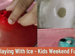Ice In Various Shapes Frozen With Toys Inside | Fun Activities For Kids | Breaking Ice | Weekend Fun